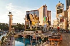 Estância e casino Venetian em Las Vegas Fotos de Stock