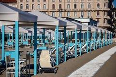 A estância turística de Viareggio imagens de stock royalty free