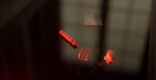 Estípites de la cocaína fotos de archivo libres de regalías