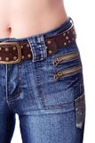 Estómago atractivo Fotos de archivo libres de regalías