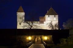 Estónia: Castelo de Kuressaare Foto de Stock Royalty Free