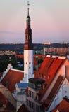 Estónia: Cidade velha de Tallinn Foto de Stock
