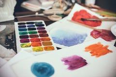 Estúdio artístico Fotos de Stock