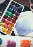 Estúdio artístico Fotografia de Stock