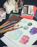 Estúdio artístico Imagem de Stock