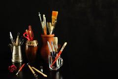 Estúdio da arte Imagens de Stock Royalty Free