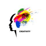 Estúdio da arte do logotipo Foto de Stock