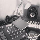 Estúdio da música Fotografia de Stock