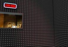 estúdio de gravação Imagem de Stock