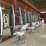 Estúdio do cabelo Imagem de Stock