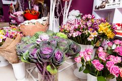 Estúdio do design floral imagens de stock royalty free