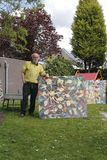 Estúdio do pintor Theo Rademaker em Arnhem imagem de stock