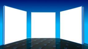 Estúdio elevado da tevê do teck Imagens de Stock