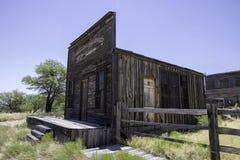 Estúdio ocidental velho Bulding do filme da cidade Imagens de Stock Royalty Free