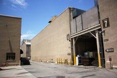 Estúdios de Warner Bros. em Califórnia Fotos de Stock