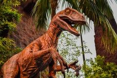 Estúdios universais de Jurassic Park imagens de stock