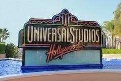 Estúdios universais Hollywood imagens de stock