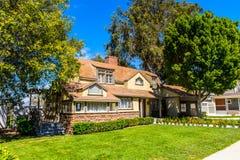 Estúdios universais Hollywood Park, Los Angeles, EUA fotografia de stock royalty free