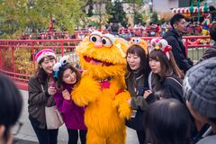 Estúdios universais Japão foto de stock royalty free