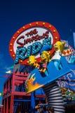Estúdios universais Simpsons Foto de Stock