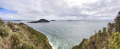 Est del nord della cima di Tomaree del mare Fotografie Stock