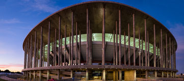 Estádio Nacional de Brasília Mané Garrincha, Nationalstadion Royalty Free Stock Photography