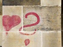 Est il amour Images libres de droits
