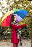 Est il pleuvant Photo stock