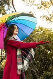 Est il pleuvant Photo libre de droits