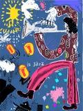 Est le jazz Image stock