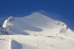 Est?ncia de esqui France Espace Killy Foto de Stock Royalty Free