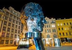 Est?tua da metamorfose de Franz Kafka Prague - Rep?blica Checa foto de stock