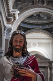 Est?tua de Jesus Christ fotografia de stock royalty free