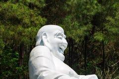 Est?tua de rir Buddha imagem de stock royalty free
