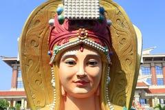 Est?tua do mazu chin?s da deusa do mar, ad?be rgb imagens de stock royalty free