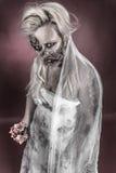 Jeune mariée de zombi Photographie stock
