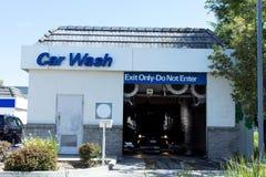 Estação automática da lavagem de carros Imagens de Stock