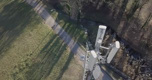 Estação base da telecomunicação filme