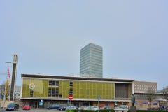 A estação cargo-moderna de Eindhoven Imagens de Stock