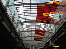 Estação central Amsterdão Fotos de Stock Royalty Free