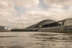 A estação central de Amsterdão Imagem de Stock Royalty Free