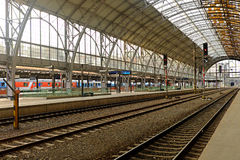 A estação central de Praga Foto de Stock Royalty Free