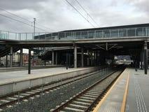 Estação central de Trondheim, Noruega Fotografia de Stock
