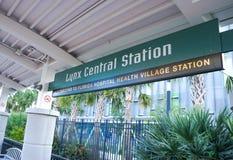 Estação central do lince, terminal de ônibus do lince, Orlando Florida Fotos de Stock Royalty Free