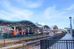Estação central do lince, terminal de ônibus do lince, Orlando Florida Imagens de Stock Royalty Free