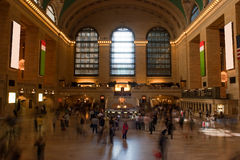 Estação central grande Foto de Stock Royalty Free