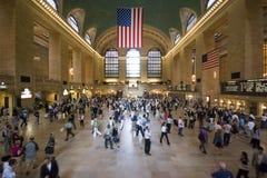 Estação central grande Imagens de Stock Royalty Free
