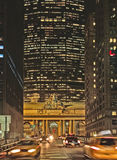 Estação central grande New York do Natal Imagem de Stock