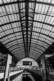 Estação central na cidade de Antuérpia, Bélgica Fotografia de Stock