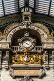 Estação central na cidade de Antuérpia, Bélgica Fotos de Stock Royalty Free